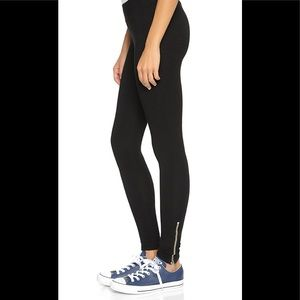 Sundry yoga leggings with zipper